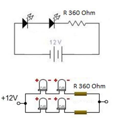 Lu Led Sepeda Motor rangkaian lu led sederhana untuk sepeda motor