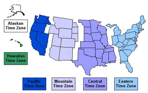 united states time zone map   teaching world history and