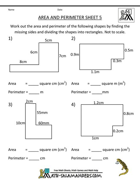 printable area worksheets 6th grade free math worksheets area and perimeter of triangles