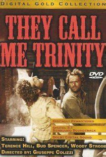 film comedy western they call me trinity a k a my name is trinity bud