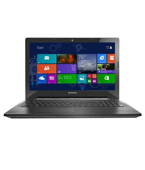 Laptop Lenovo Amd A8 Ram 4gb lenovo g50 45 notebook 80e30142in amd a8 4gb ram 500gb hdd 39 62 cm 15 6 windows 8 1