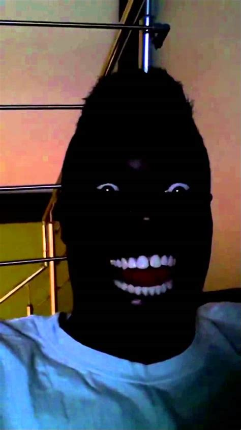 Black Guy Smiling Meme - extremely funny black guy laughing in the dark youtube