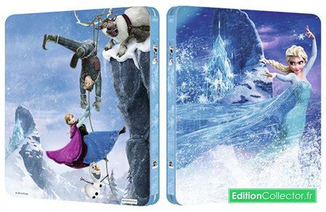 frozen la reine des neiges 2013 un steelbook limit 233 pour la reine des neiges