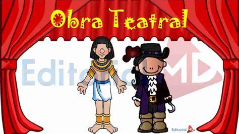 Obras De Teatro by Obras De Teatro Para Ni 241 Os De Primaria Para Imprimir