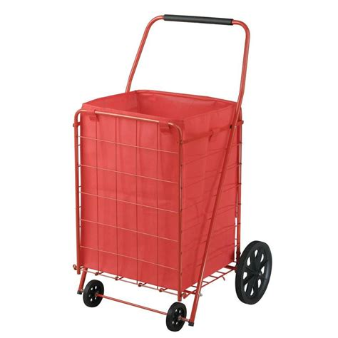 sandusky 110 lbs folding shopping cart the home depot canada
