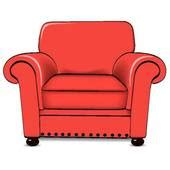 armchair clipart and illustration 1 956 armchair clip