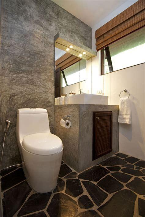 minimalist tropical villa toilet design newhouseofart