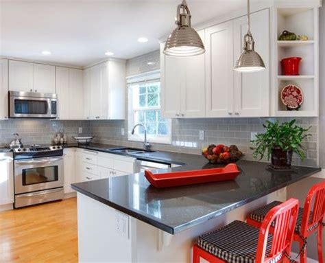 Accent Color For White And Gray Kitchen by Accent Color For Grey And White Kitchen Kitchen And Decor