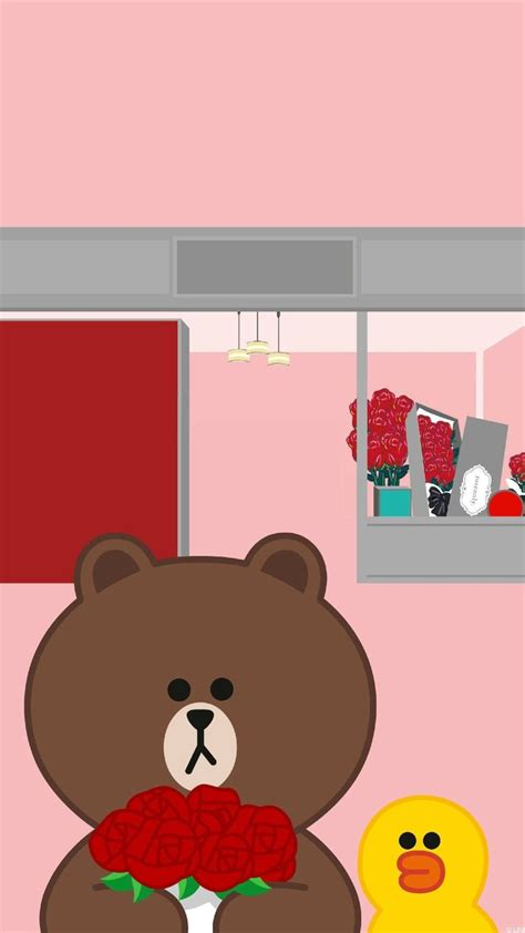 Line Friends Brown Sally Pouch Makeup 48 best korean japanese characters images on