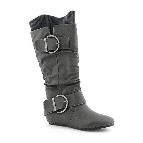 shiekh candies 66d womens mid calf boot