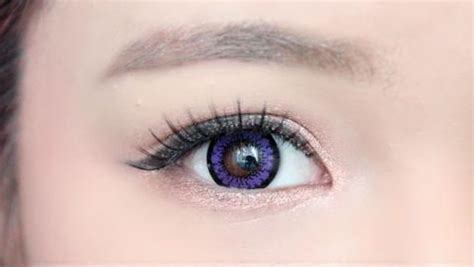 purple contact lenses on brown eyes   www.pixshark.com