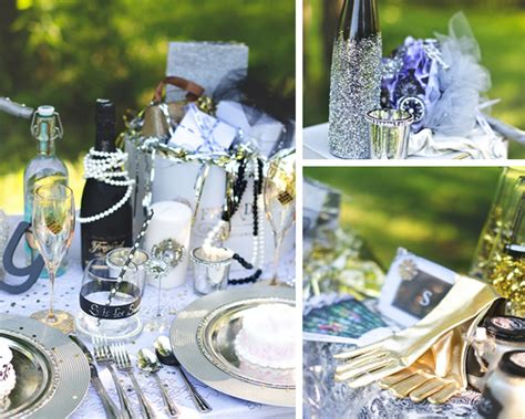 great gatsby party themes the great gatsby wedding table with lots of awesome ideas