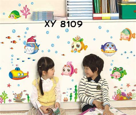 Wallpaper Sticker Dinding Putih Motif Ikan jual wall stickers wallsticker uk 50x70 wall sticker ikan