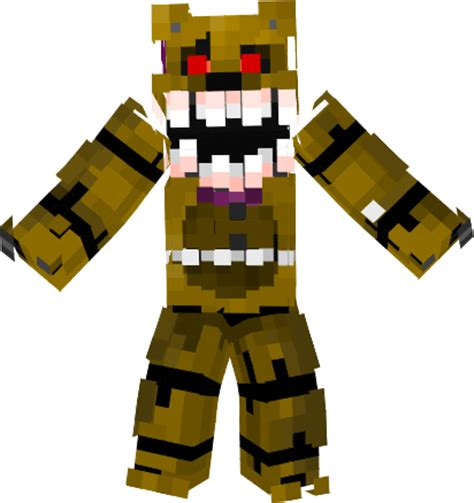 Pdf Five Nights At Minecraft Skins by Minecraft Skins Of Every Five Nights At Freddy S Ask