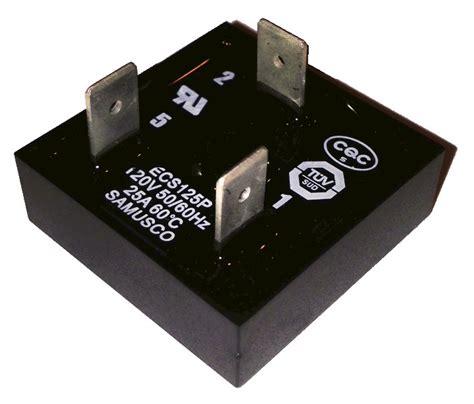 capacitor start motor centrifugal switch electronic motor start switch ecs112ps