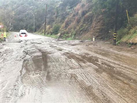 Sigalert Pch Malibu - mudslides shut down topanga canyon boulevard canyon news