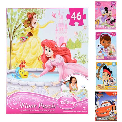 Disney Princess Floor Puzzle - new disney 46pc floor puzzle minnie mouse princess doc
