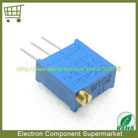 Potensiometer 3296w 102 1k Ohm Trimpot Trimmer Variable Resistor 50pcs 3296w 1 102lf 3296w 1k 3296w 1 102 trimpot wholesale 50pcs lot 3296w 1 102lf 3296w 1k