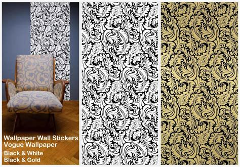interiorinstyle patterned wallpaper wall stickers