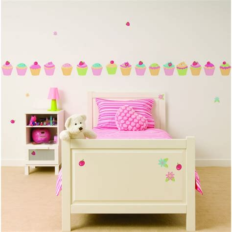 cupcake wall stickers fun4walls cupcake wall stickers stikarounds fun4walls from i wallpaper uk