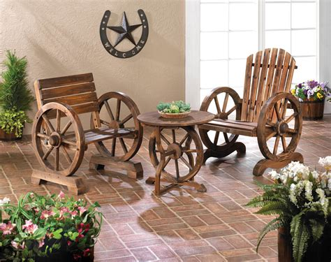 wagon wheel home decor wagon wheel table wholesale at koehler home decor