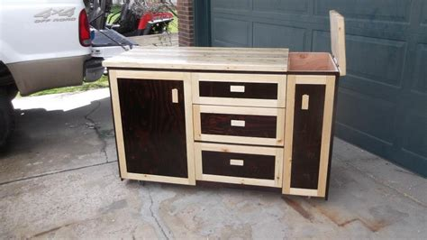 outdoor kitchen cart outdoor kitchen side cart by moose lumberjocks com