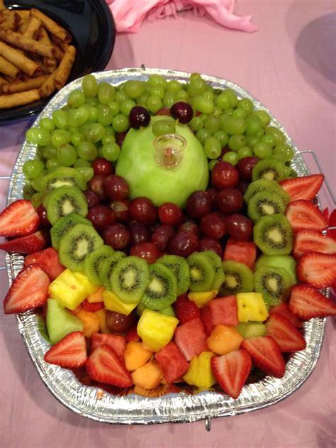 Baby Shower Fruit Basket Ideas by Best 25 Baby Fruit Baskets Ideas On