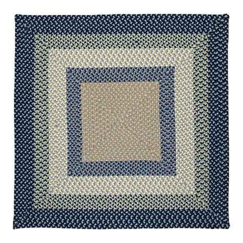 8 Square Rugs by Colonial Mills Montego 8 Square Rug Blue Burst