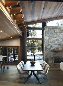 Mountain Home Interiors 1000 ideas about modern cabin interior on pinterest