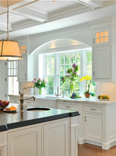 kitchen windows ideas gambrel shingled home home bunch interior