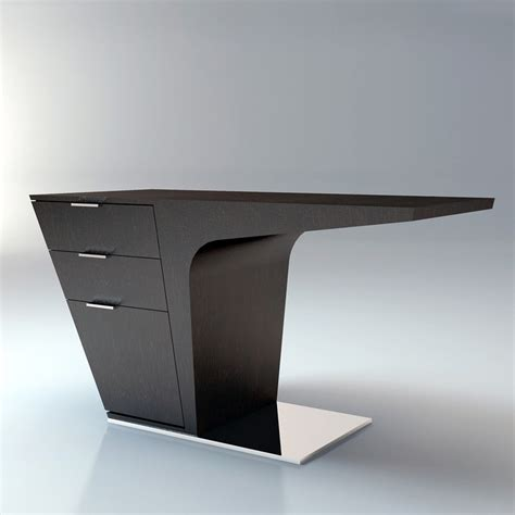 Futuristic Computer Desk Modloft Mercer Desk