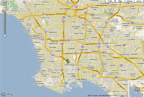 map to los angeles california map of los angeles map of los angeles ca modified from