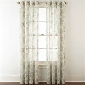 jcpenney outlet curtains jcpenney sheer curtains valance search