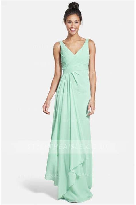 Bridesmaid Dresses Uk Mint Green - mint green chiffon bridesmaid dress www pixshark