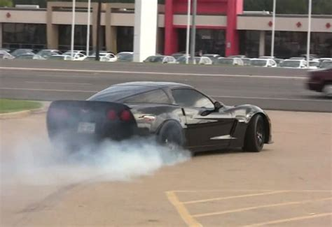 corvette burnout bad tuned corvette z06 can t make up for bad timing