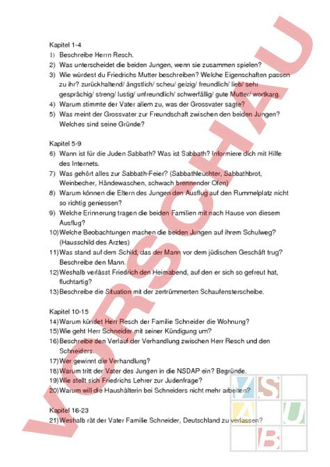 Lebenslauf Vorlage Kostenlos Für Schüler Www Unterrichtsmaterial Ch Lesef 195 182 Rderung Literatur Damals War Es Friedrich