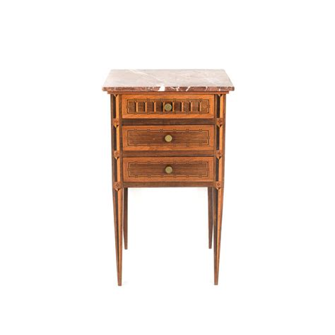 best nightstand antique inlaid marble top nightstand circa 1910 ft 542b