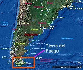 tierra fuego south america map tierra fuego edge of the world