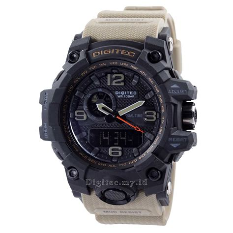 Digitec Army Brown digitec dg 2093t brown sand mudmaster jam tangan sport