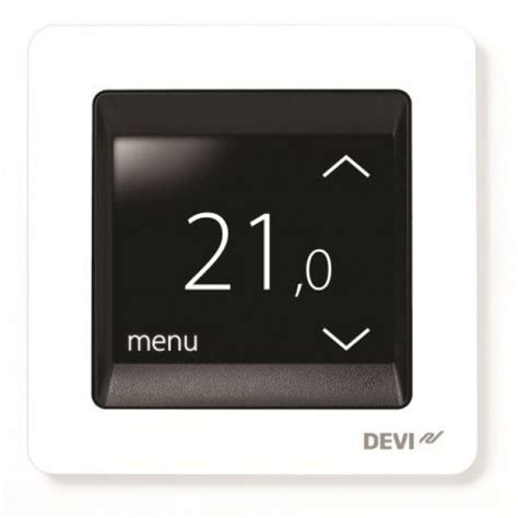 underfloor heating thermostat in bathroom impey aqua mat underfloor heating with devireg touch