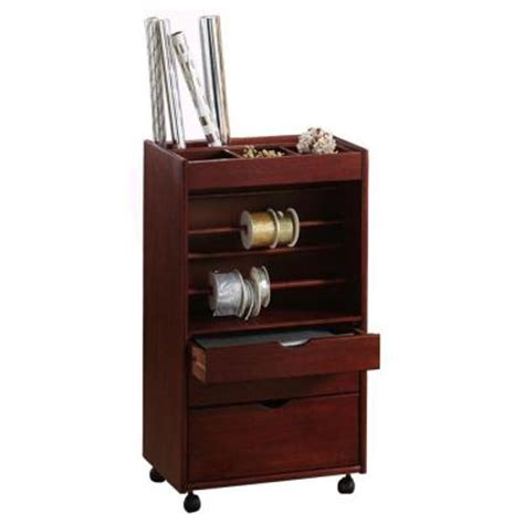 Home Depot Cart by Home Decorators Collection Stanton Wrapping Cart