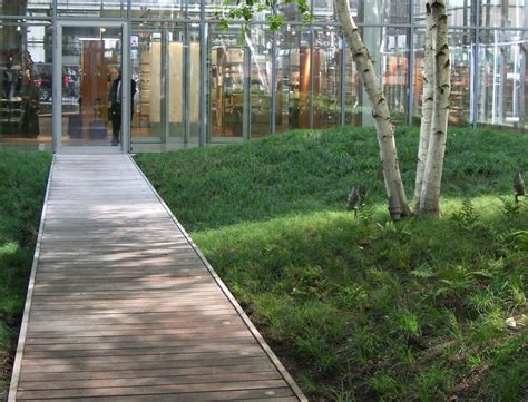 gallery of the new york times building lobby garden hm