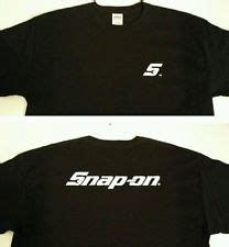 T Shirt Snap On snap on s t shirts ebay