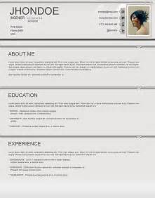 Year Resume Template by Cv Template 15 Year Http Webdesign14