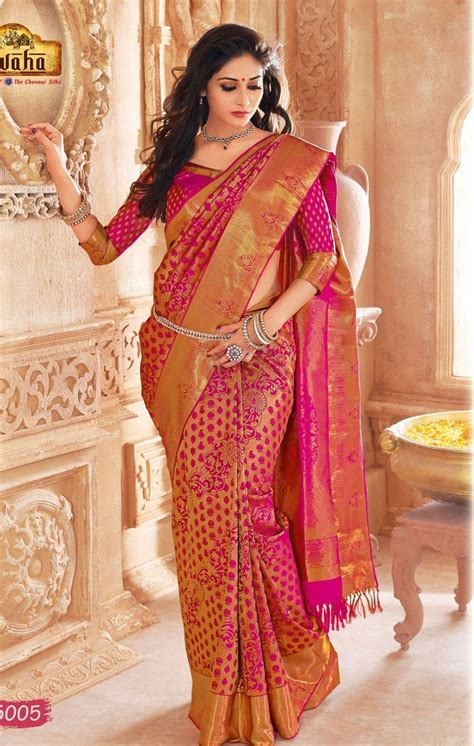 Chayra Blouse Au Collections vivaha branded wedding silk saree vbbs5005 saree blouse wedding products and