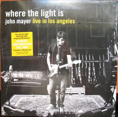 Where The Light Is Mayer by Popsike Mayer Where The Light Is Sealed 180 Gram Vinyl Auction Details