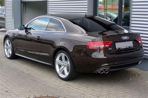 Wikipedia Audi A5 by Audi A5 Coup 233 S Line 2 0 Tdi Teakbraun Heck Audi A5