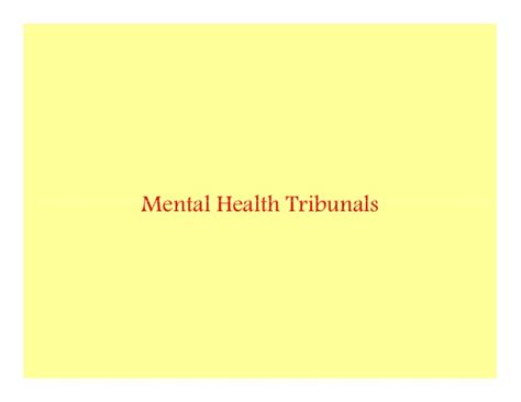 section 52 mental health act community treatment orders