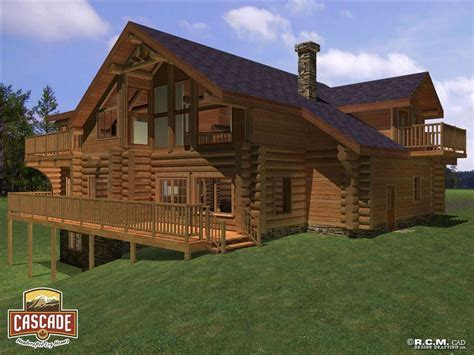 top edwards homes on log homes 3367 edwards rear deck view