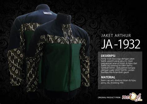 Batik Army patriot series bagian 2 jaket batik dengan nuansa elegan
